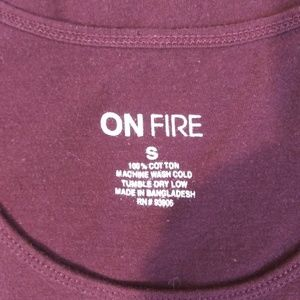 On Fire Tops - On Fire America Savage Fringe tank small